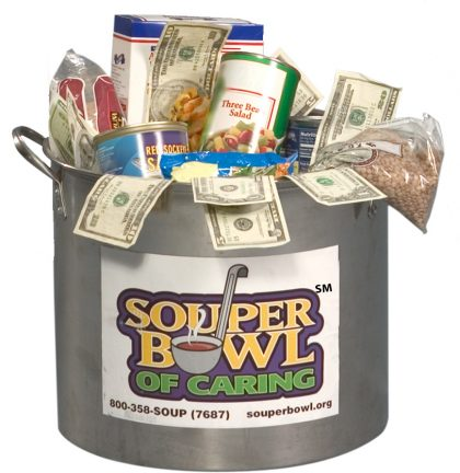 SouperBowl of Caring Soup Pot