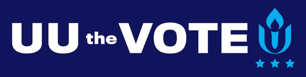 UU the VOTE campaign 2020 logo